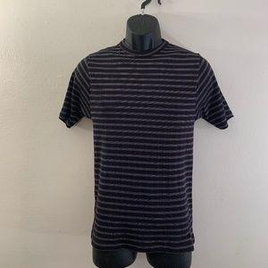 Dekker Ribbed T Shirt Large tight fitting